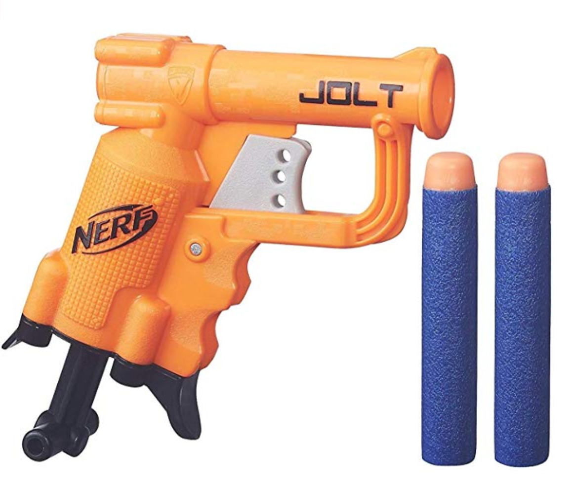 A small nerf gun