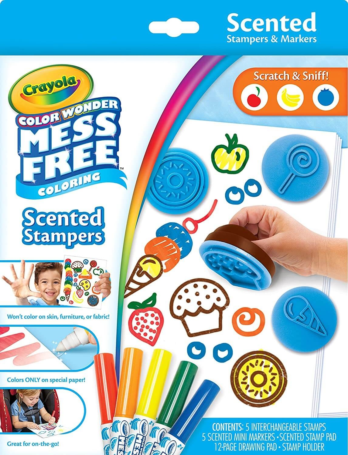Crayola Pages Mess-Free Stampers