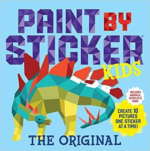 Paint by Sticker Kids Sticker Books