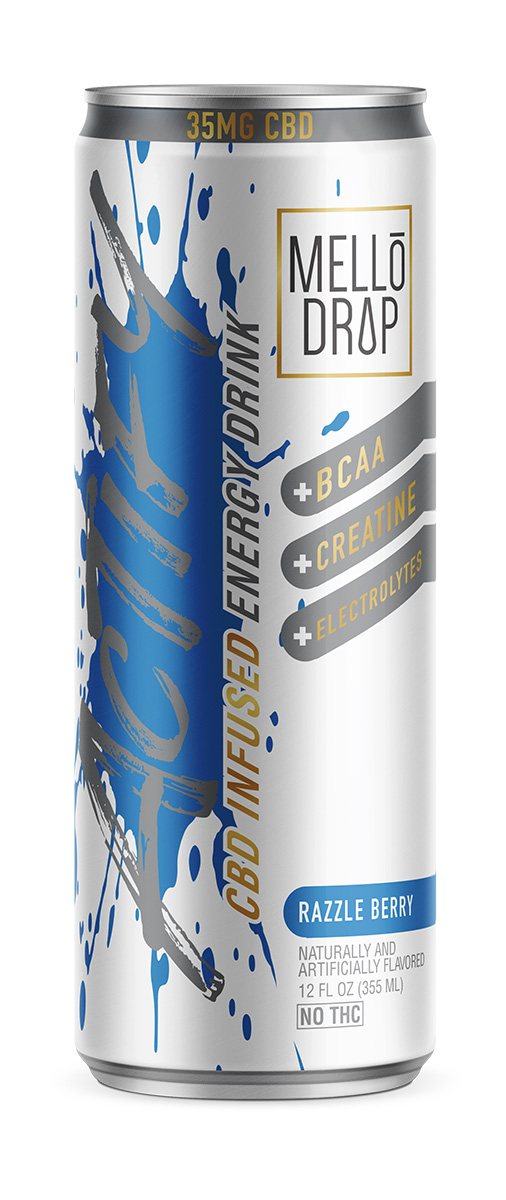 Mello Drop CBD Infused Energy Drink