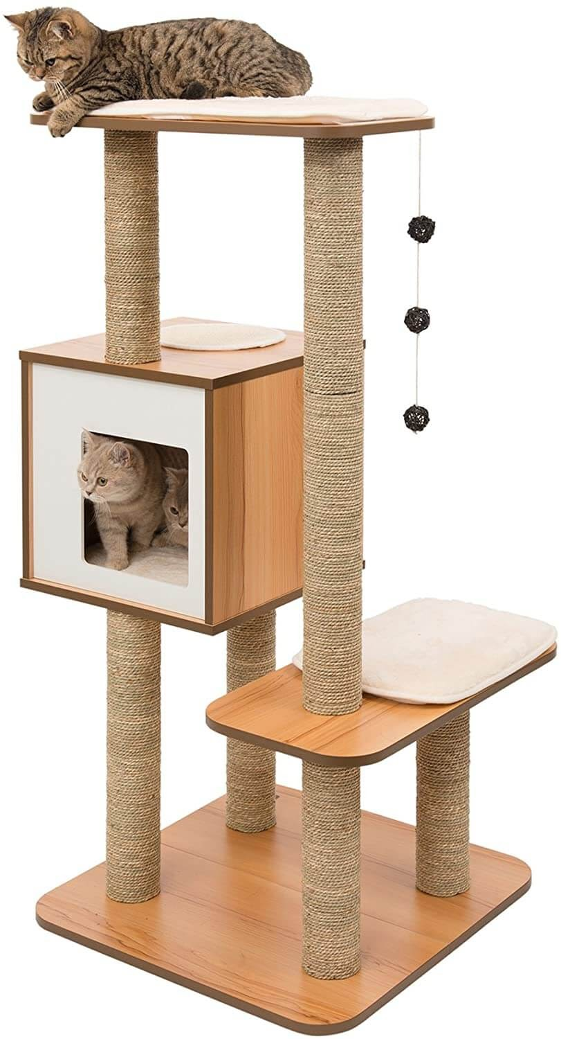 Vesper High Base Cat Tower