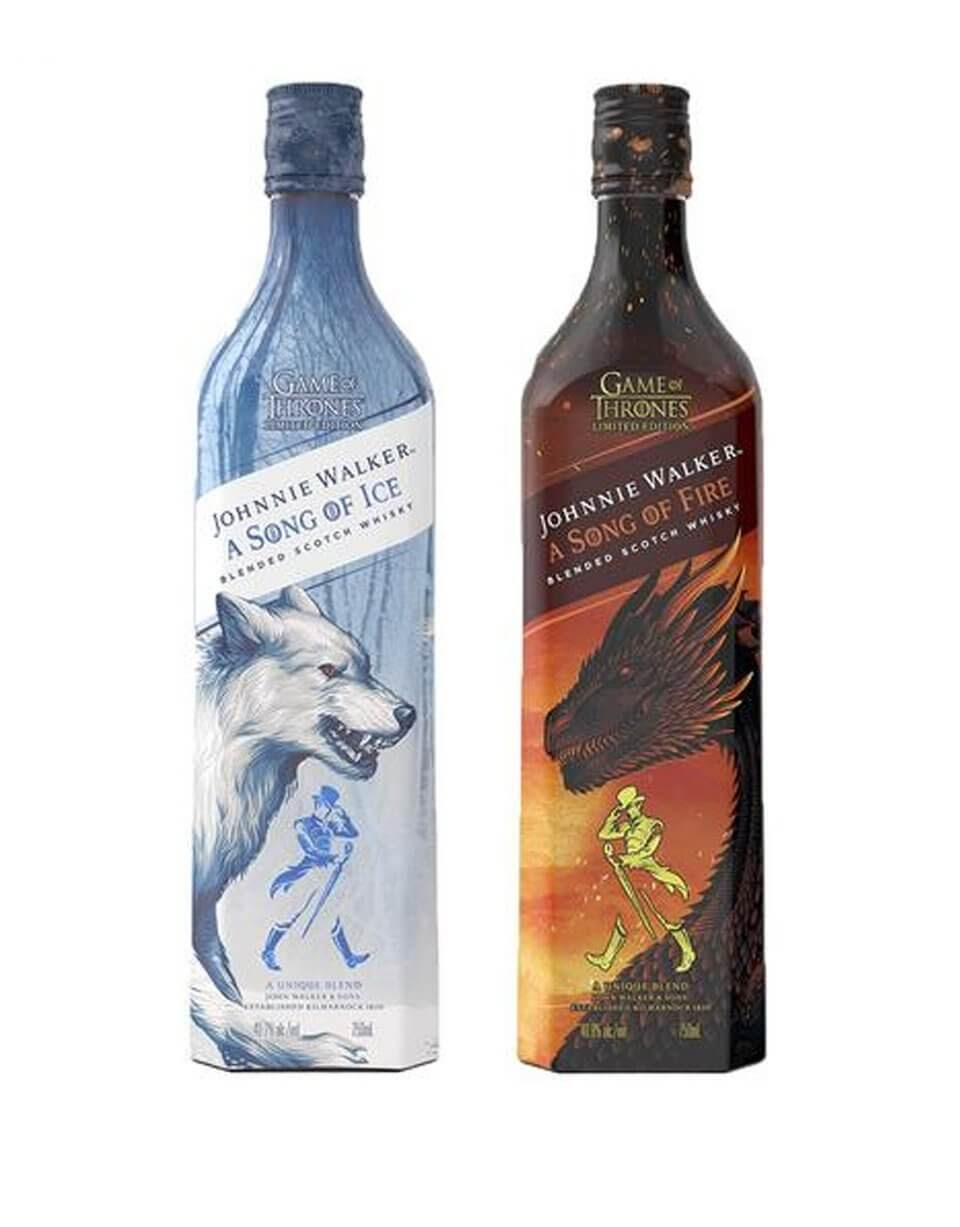 A Song of Fire and Ice Whiskey