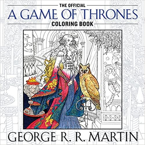 Official Game of Thrones Coloring Book