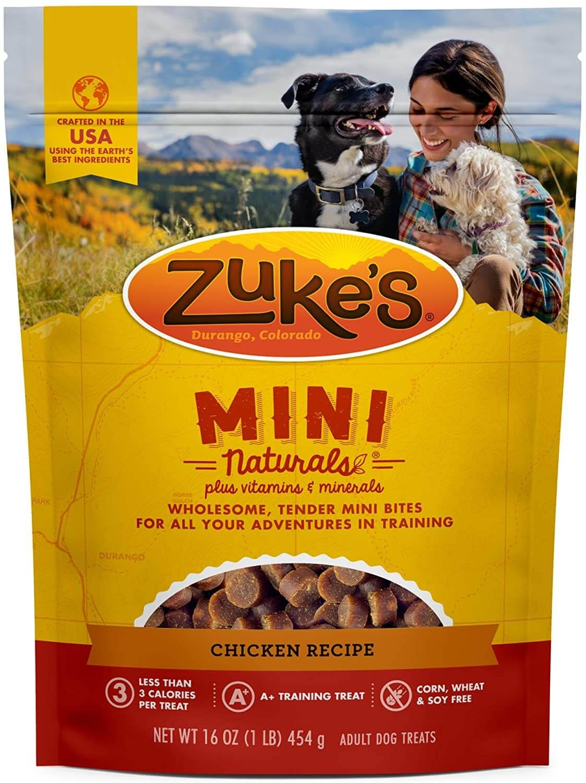 Zuke's Natural Training Dog Treats