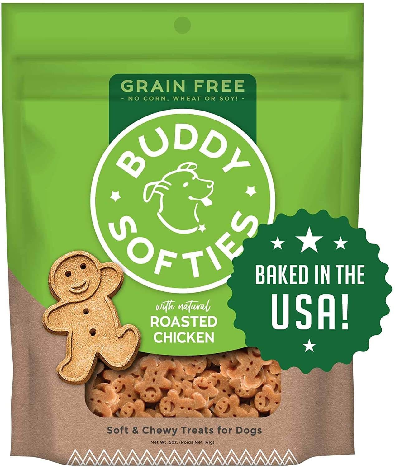 Buddy Biscuits Grain-Free Soft & Chewy Treats