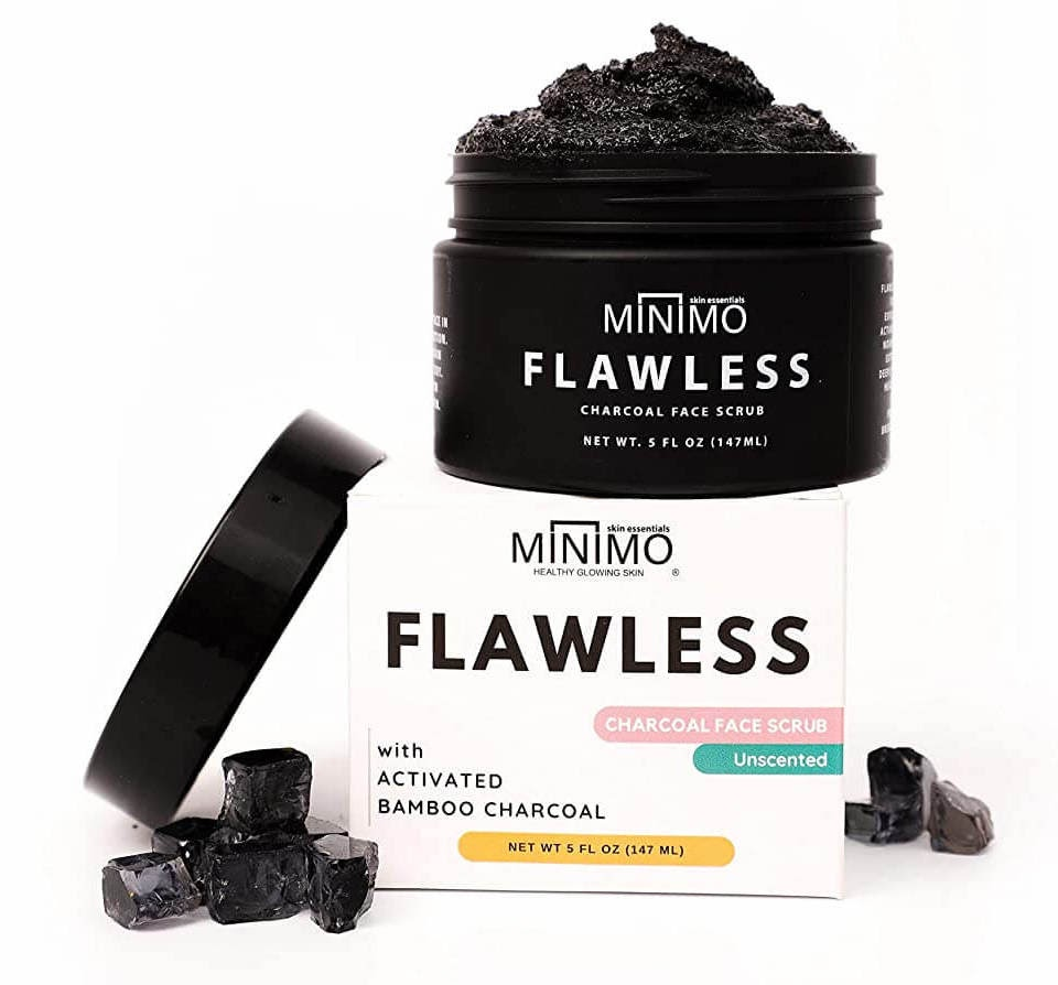 Minimo Flawless Charcoal Face Scrub