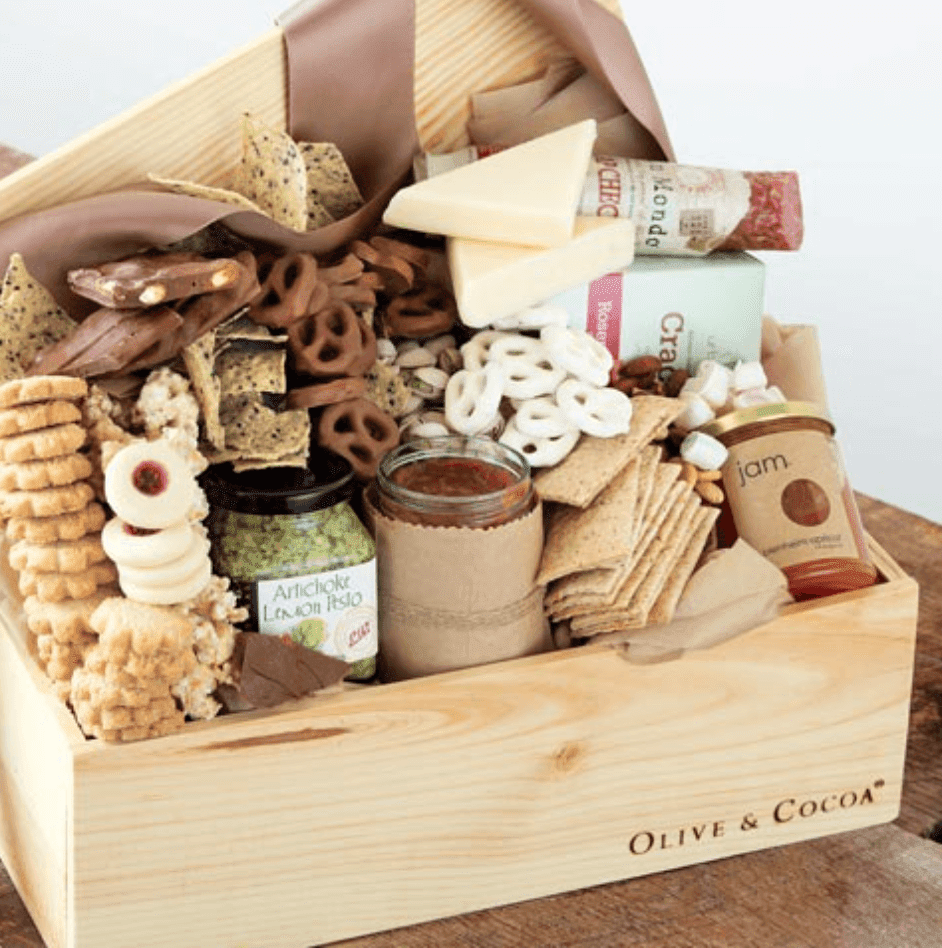 Olive & Cocoa Tastes for Everyone Edible Gift Box