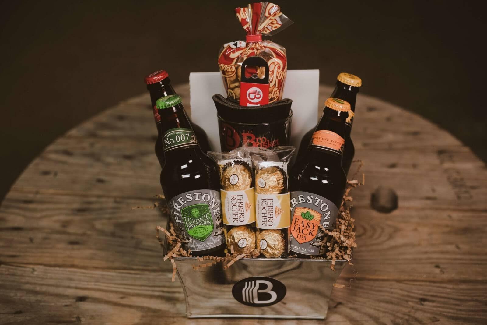 Cali Craft Beer Sampler Gift Basket