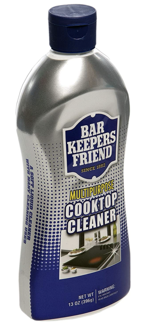 Bar Keepers Friend cleaning solution