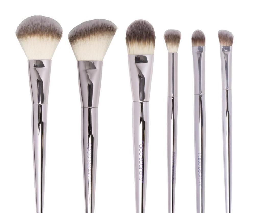 Beauty Secrets 6 Piece Cosmetic Brush Set