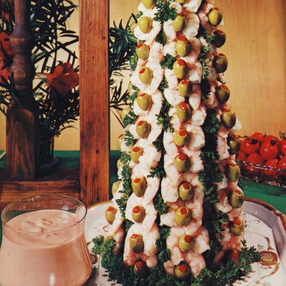 Shrimp Christmas Tree