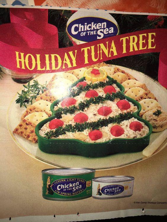 Holiday Tuna Tree