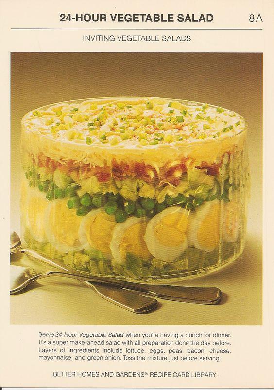 24 Hour Vegetable Salad