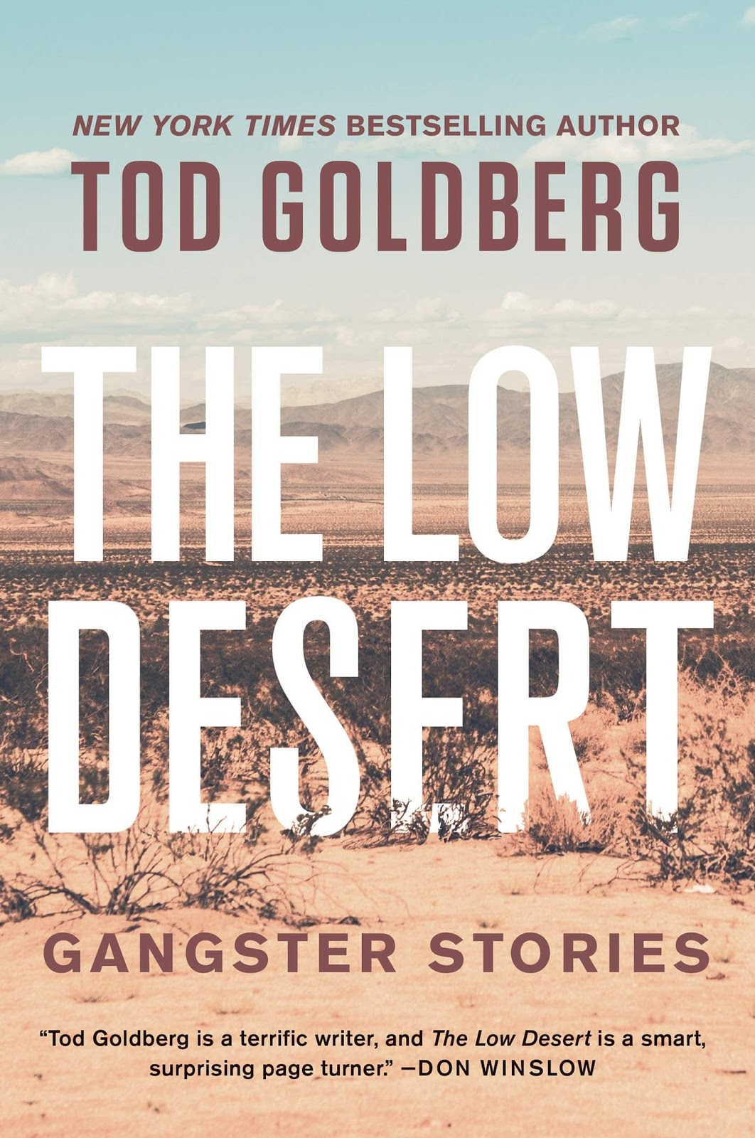 The Low Desert: Gangster Stories by Tod Goldberg