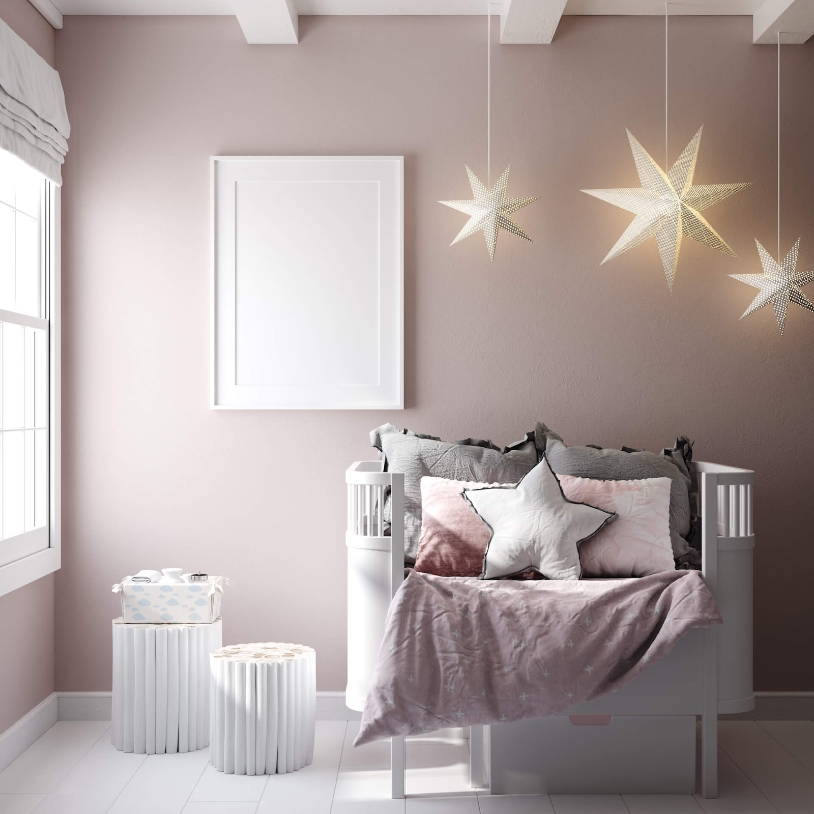 Room panted pink