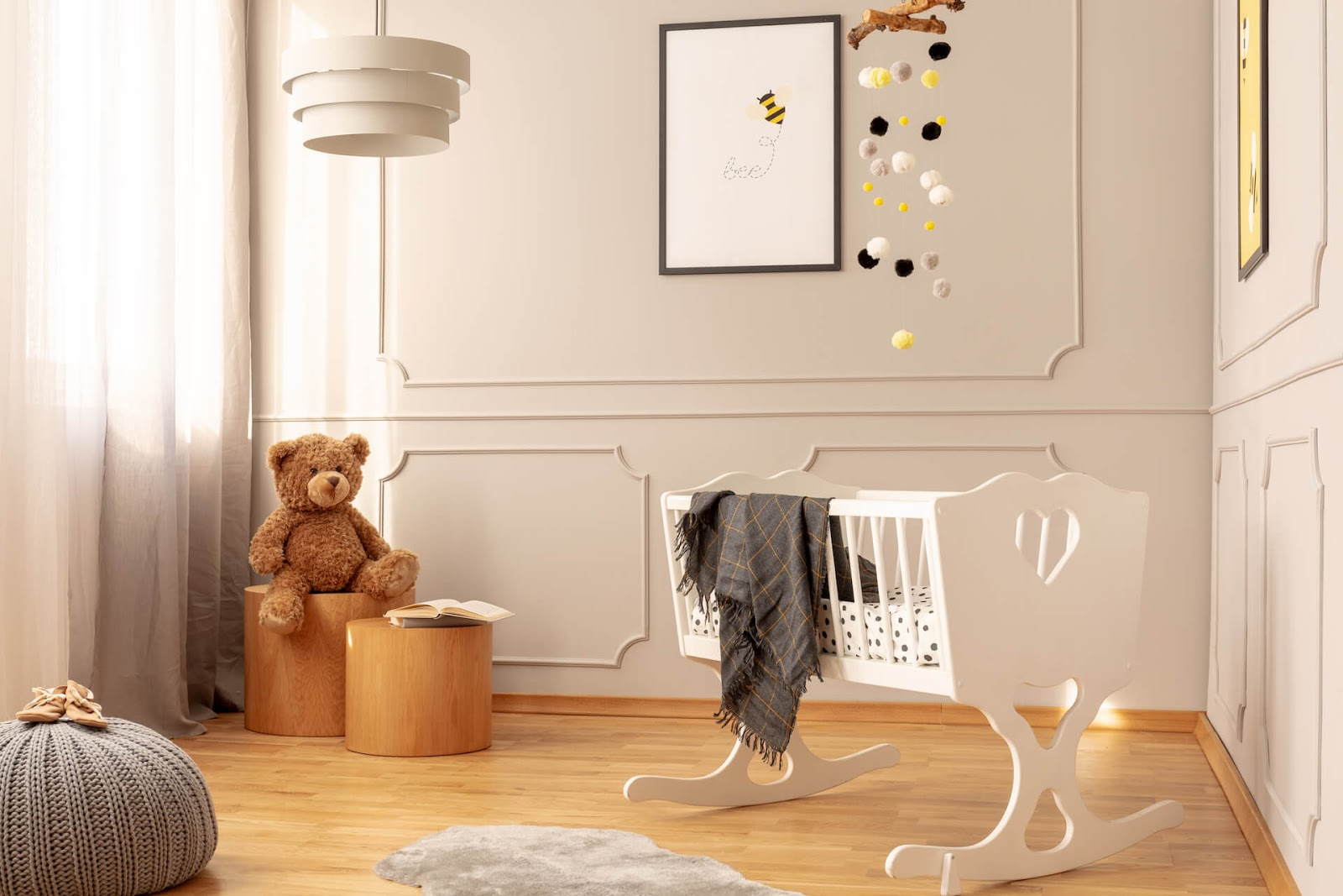 Room painted brown