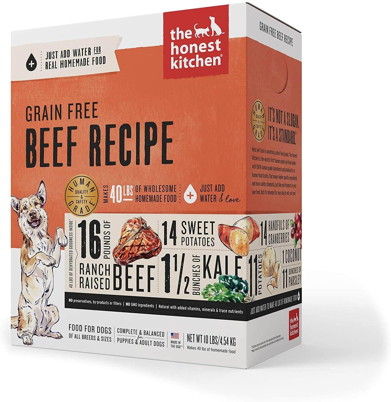 Honest Kitchen Grain-Free Beef Recipe