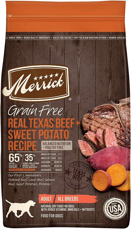 Merrick Grain-Free Dog Food (Poultry-Free)