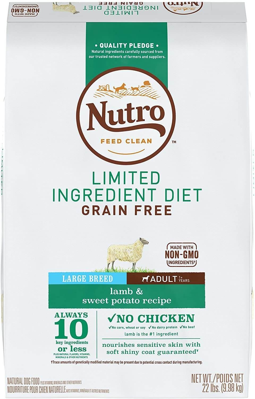 Nutro Grain Free Dog Food