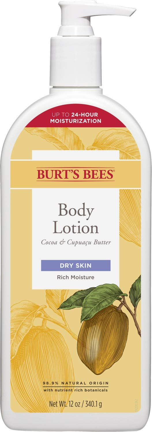 Burt's Bees Richly Replenishing Cocoa and Cupuacu Butter Body Lotion