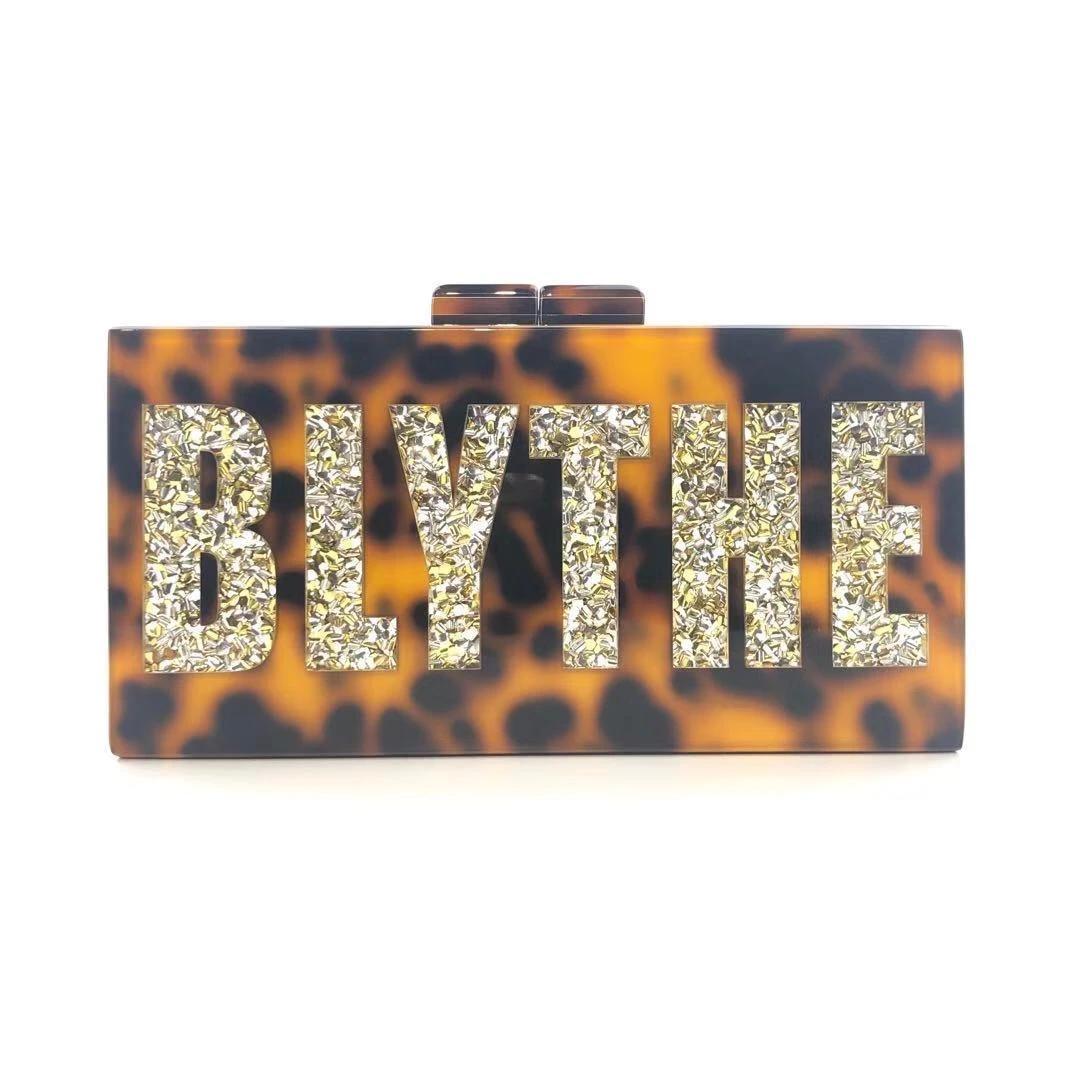 Personalized Acrylic Box Bag