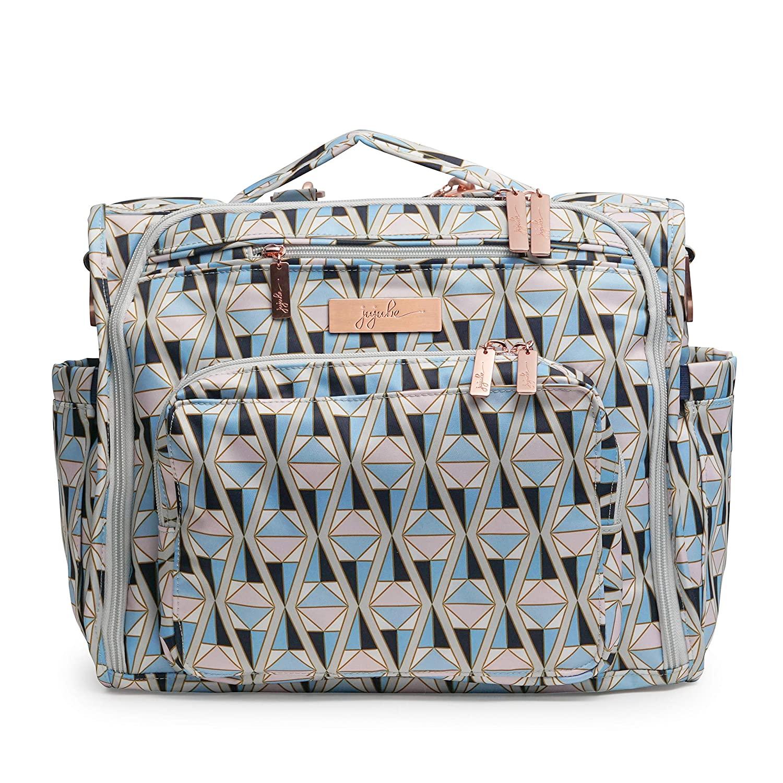 JuJuBe B.F.F Multi-Functional Convertible Diaper Backpack/Messenger Bag