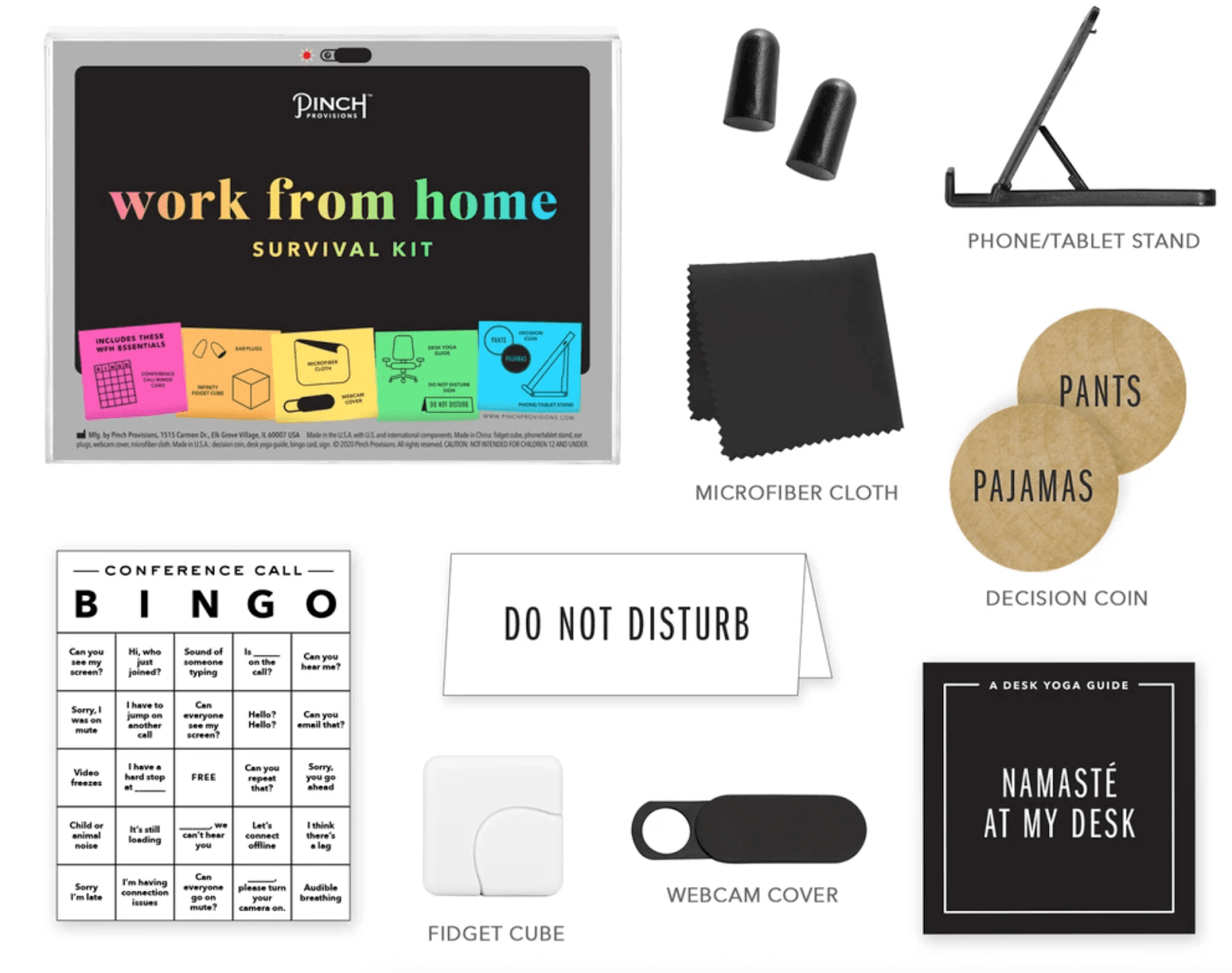 Work at Home Survival Kit