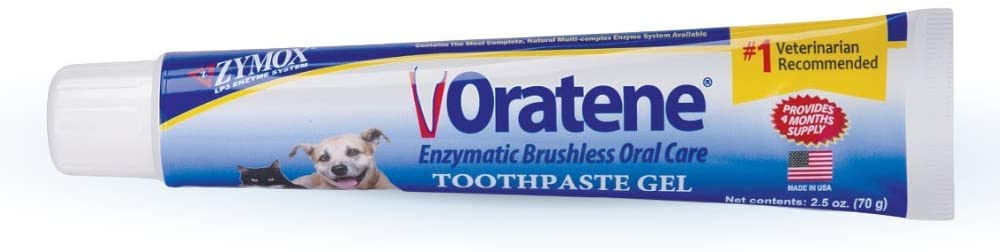 Oratene Brushless Enzymatic Oral Care Therapy Dental Gel