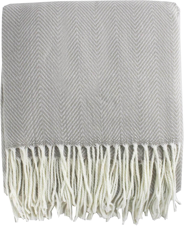 Herringbone Throw Blanket�