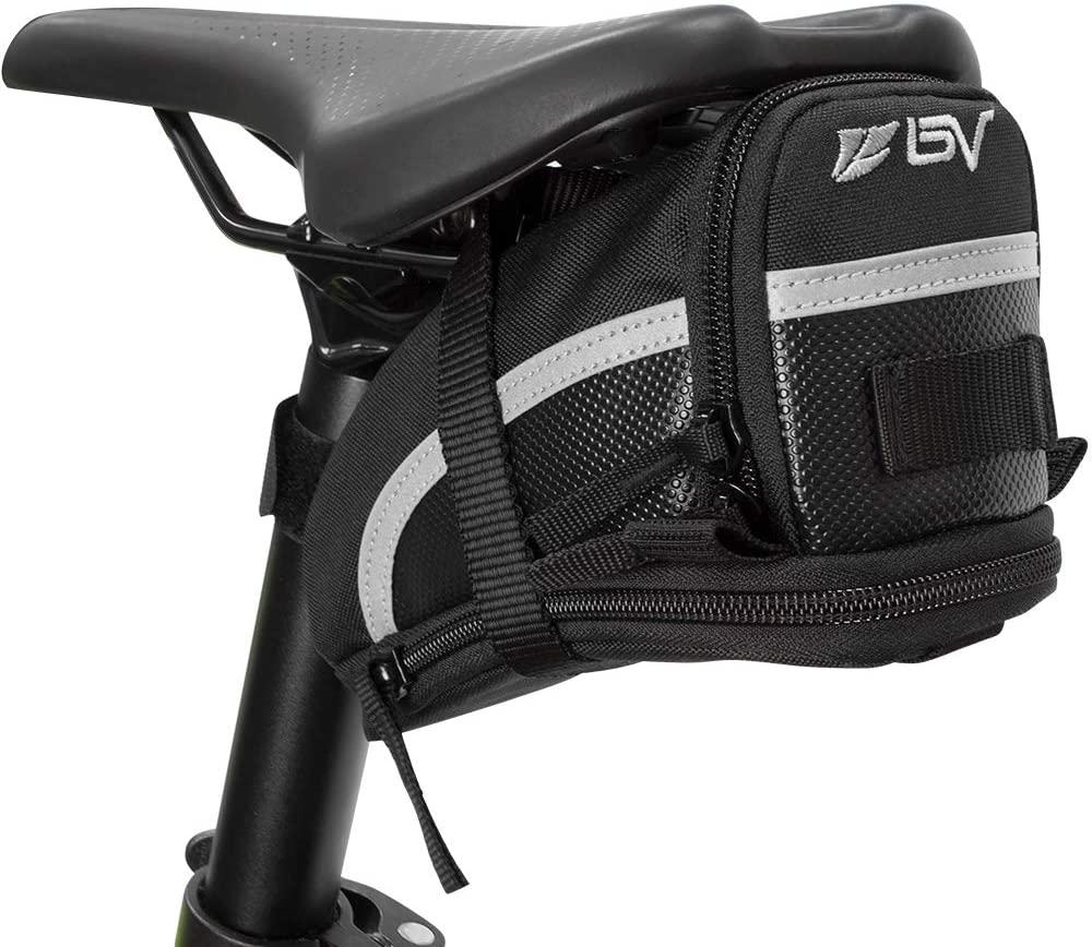 BV Bicycle Strap-On Bike Saddlebag