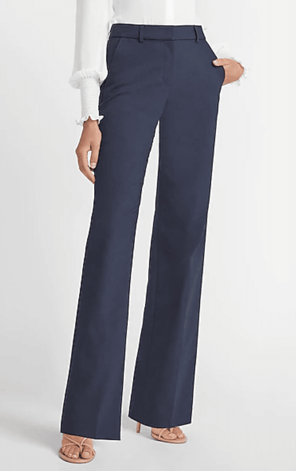 High-Waisted Trouser Pant