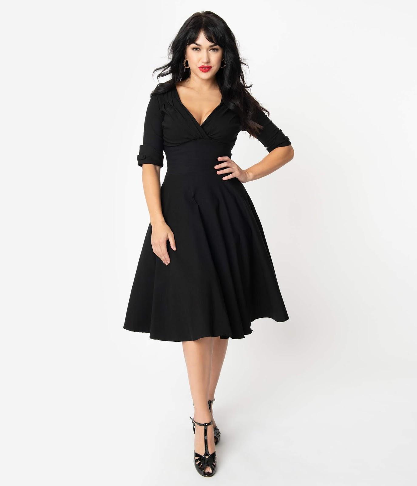 Delores Swing Dress