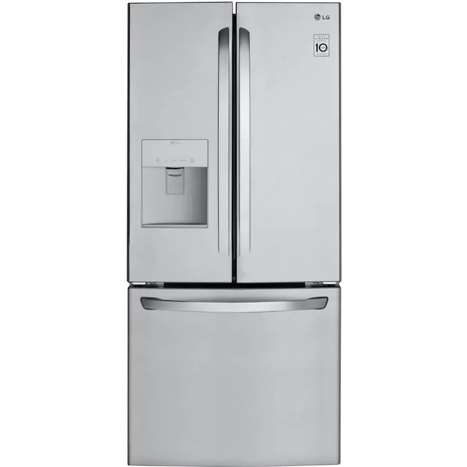 21.8-cu ft French Door Refrigerator from LG