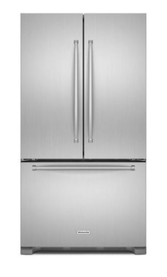 20 cu. ft. Stainless Steel Counter-Depth French Door Refrigerator