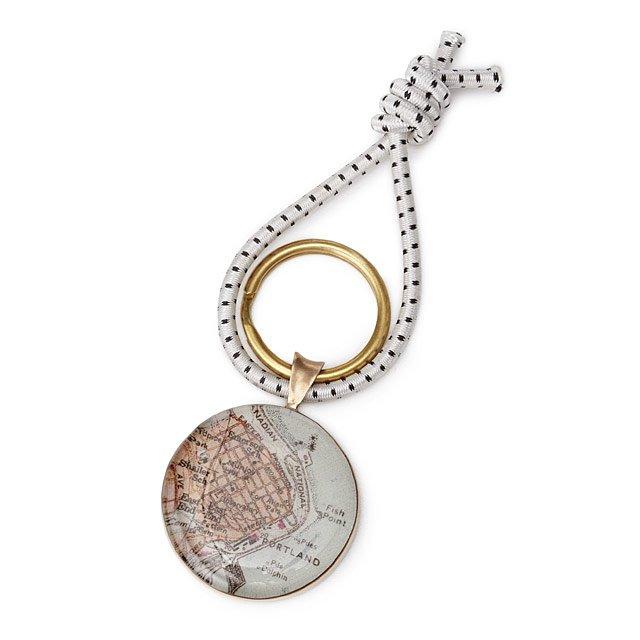 Custom May Key Ring