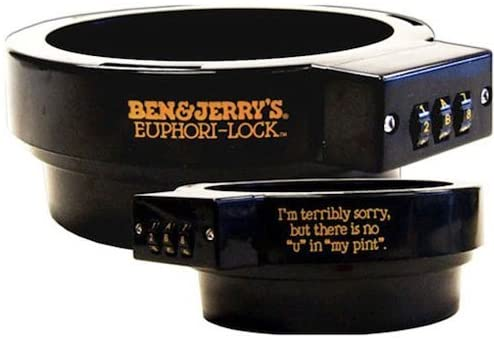 Ice Cream lock fit for Ben & Jerry's