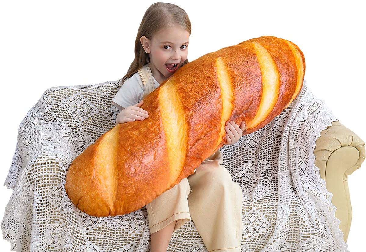 Giant bread pillow