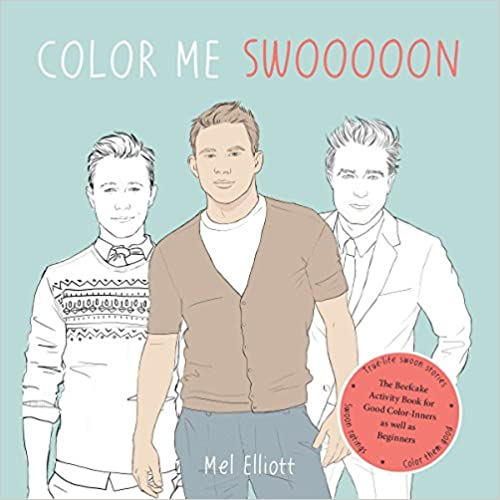 Color Me Swoon Activity Book