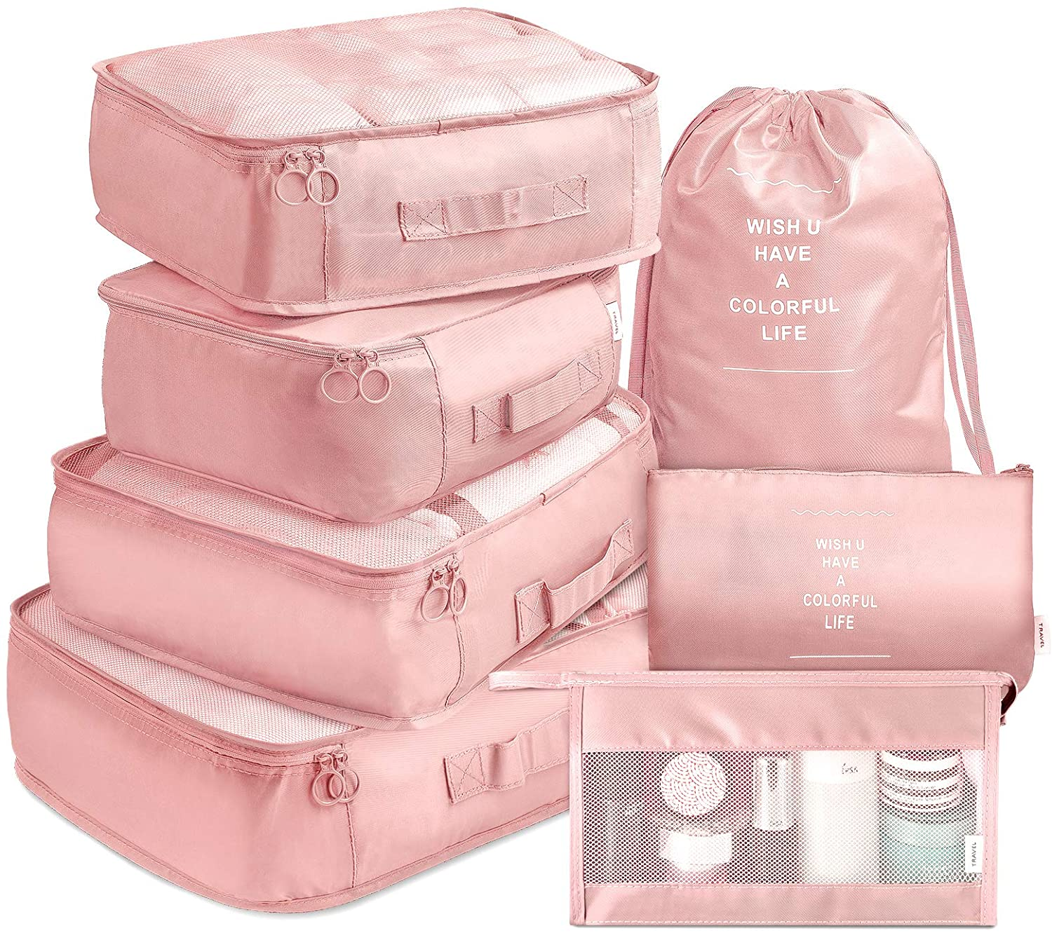 Seven-Piece Packing Cube Set