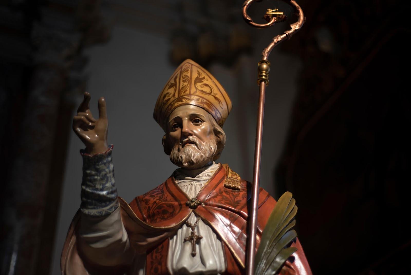 Statue of Saint Valentine