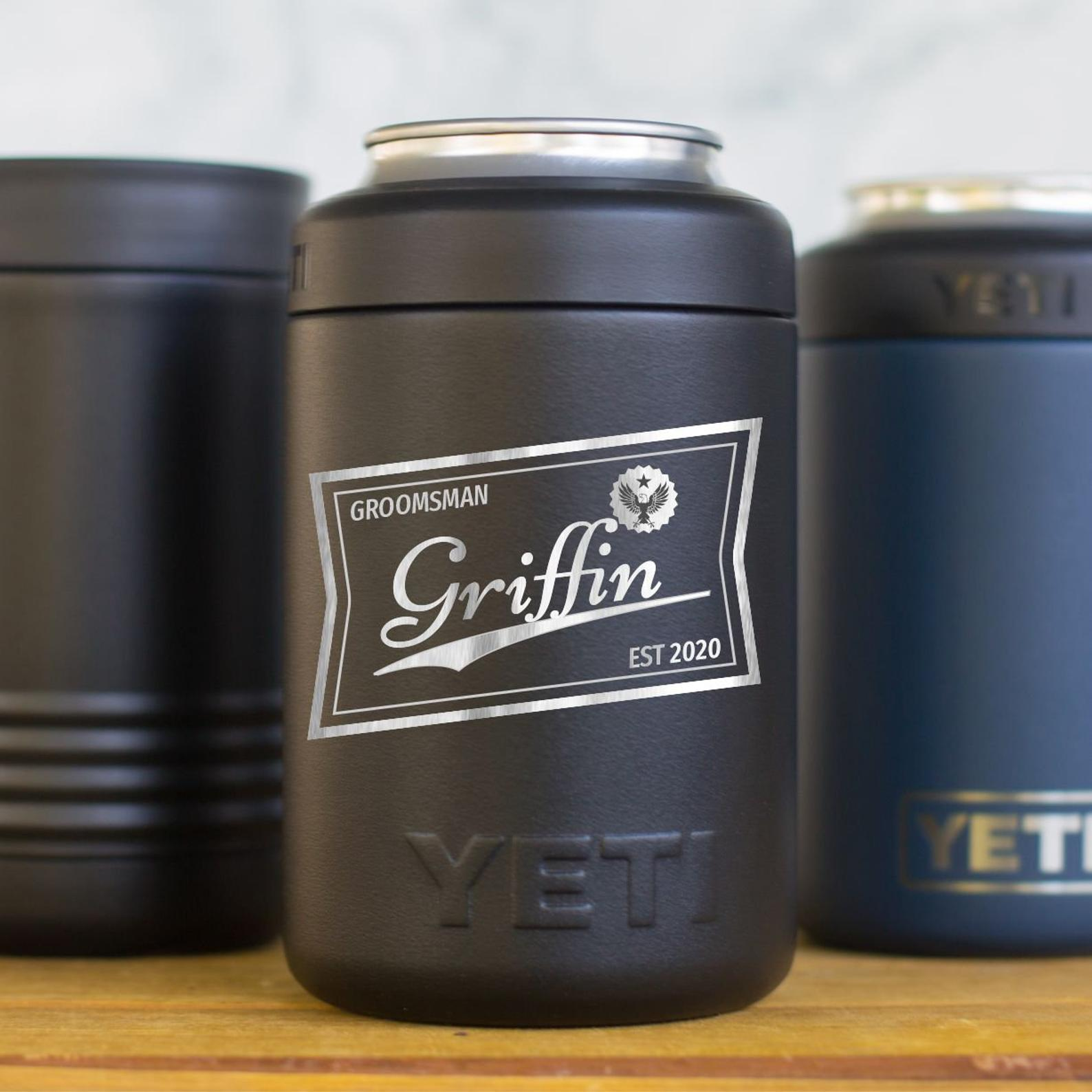 Personalized Yeti Beer Colster