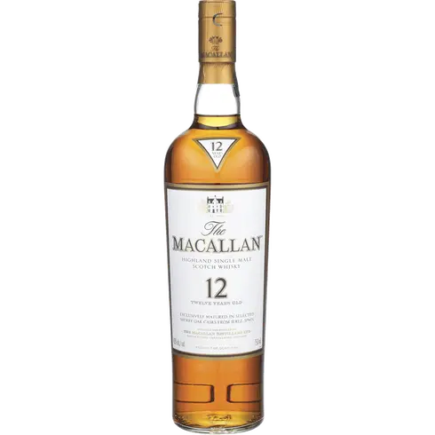 Macallan 12-year-old Scotch