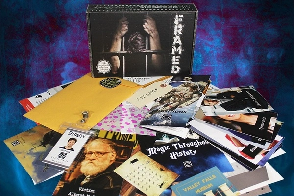 The Deadbolt Mystery Society Monthly Box