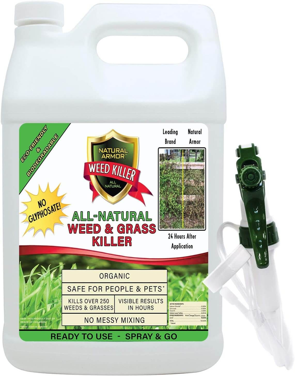 Natural Armor Weed & Grass Killer