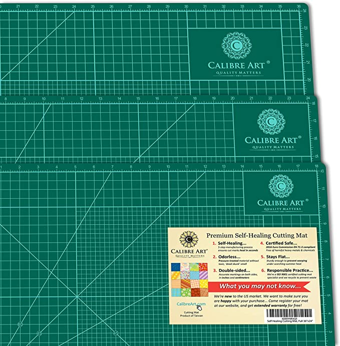 Calibre Art Self-Healing Cutting Mat