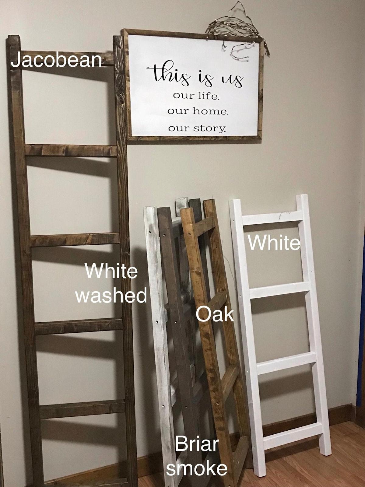 Quilt Display Ladder