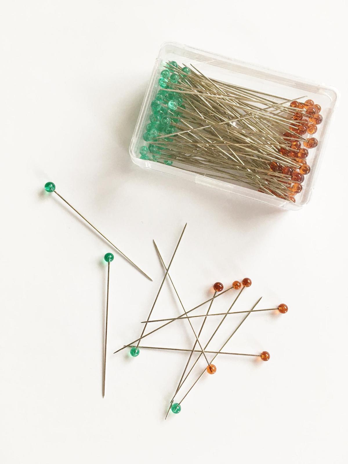 Clover Fine Glasshead Pins