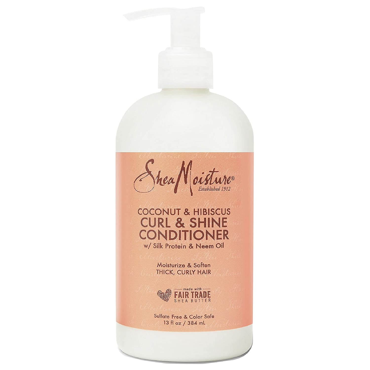 Shea Moisture Coconut and Hibiscus curl and shine conditioner