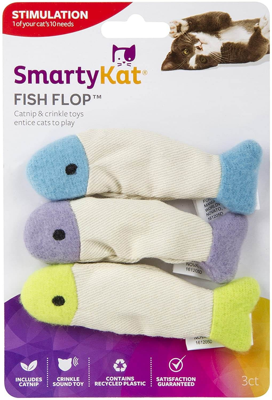 SmartyKat Fish Flop Catnip oy