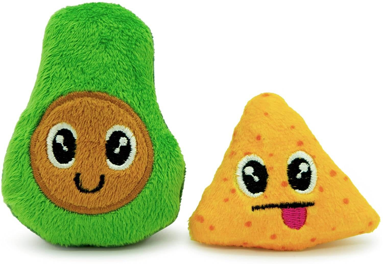 Pet Craft Supply Co. Silly avocado and chip toys